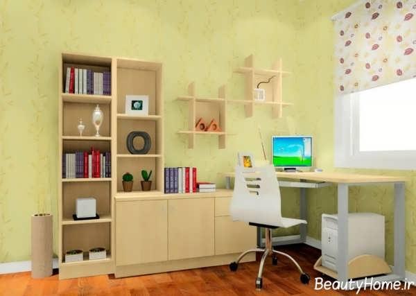دکوراسیون اتاق مطالعه برای نوجوان