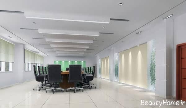 دکوراسیون اداری با طراحی متفاوت