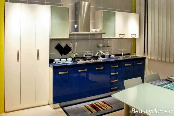رنک زیبا کابینت برای آشپزخانه