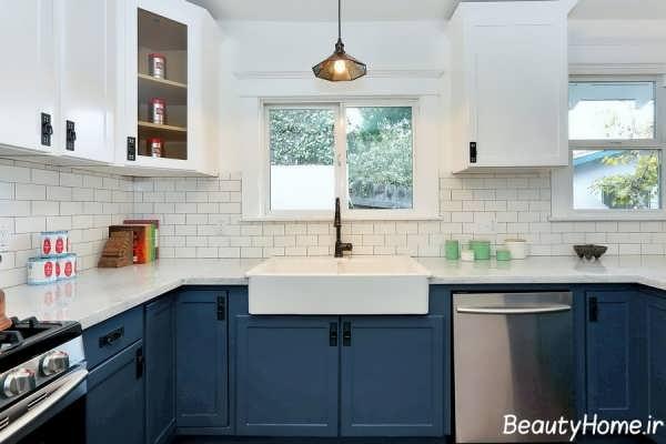 رنگ کابینت برای آشپزخانه