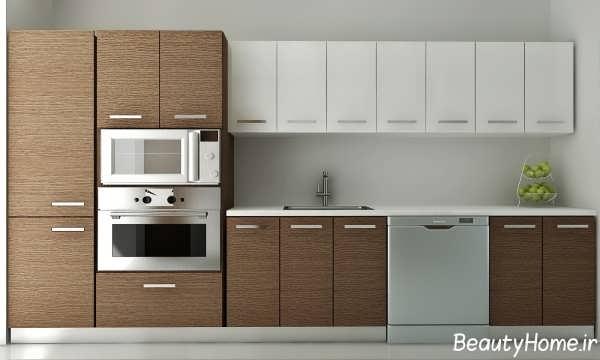 راهنمای انتخاب بهترین رنگ کابینت در آشپزخانه های مختلف, دکوراسیون ...مدل کابینت براق جدیدترین طرح های کابینت