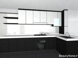 ترکیب رنگ های مکمل برای کابینت آشپزخانه