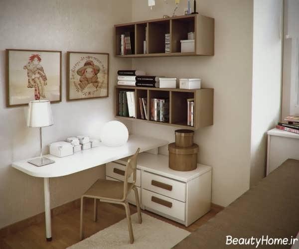 دکوراسیون اتاق مطالعه با طراحی های زیبا
