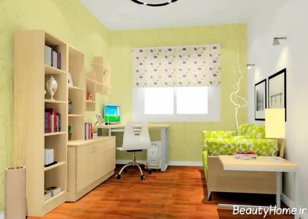 دیزاین اتاق مطالعه