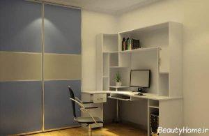 دکوراسیون زیبا اتاق مطالعه برای نوجوان