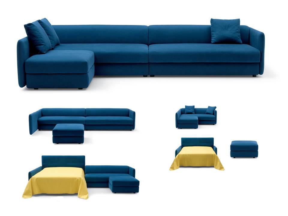 مدل مبل تختخواب شو با طراحی متفاوت