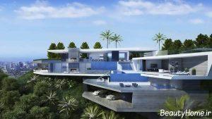 معماری خانه های لوکس در سراسر دنیا