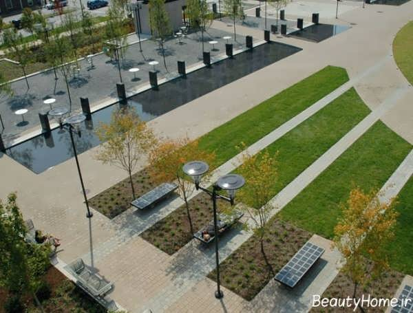 ایجاد فضای سبز شهری