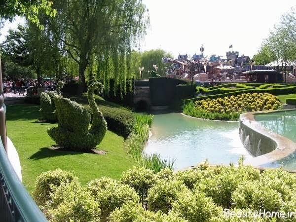 فضای سبز شهری زیبا