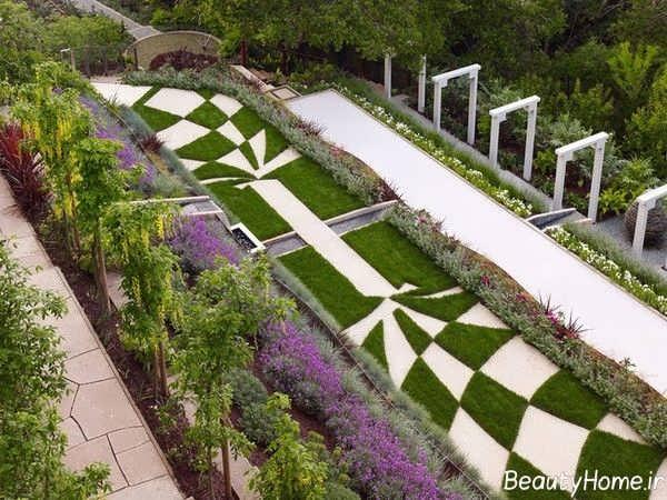 فضای سبز شهری زیبا و ایده آل