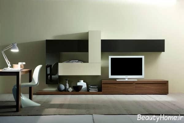 میز تلویزیون با طرح کلاسیک