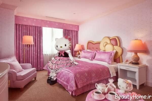اتاق خواب زیبا دخترانه