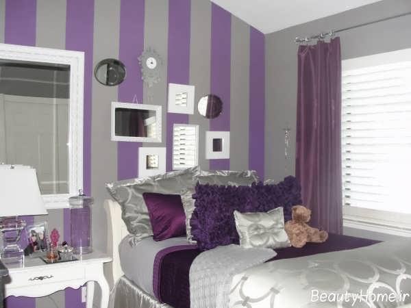 مدل اتاق خواب دخترانه زیبا