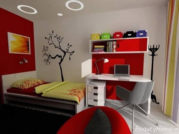 زیباترین نمونه های دکوراسیون اتاق خواب نوجوان