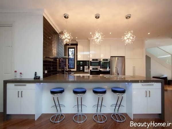 مدل های زیبا و جذاب لوستر آشپزخانه