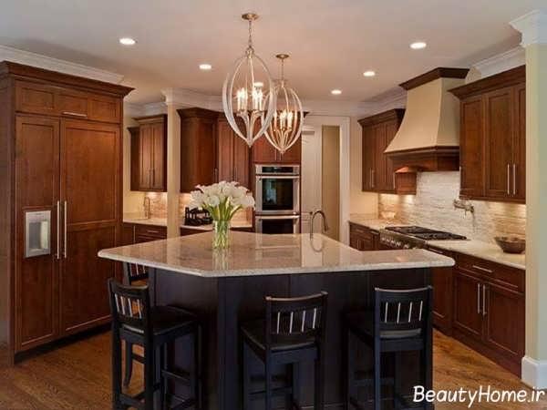 مدل های زیبا و جدید لوستر آشپزخانه