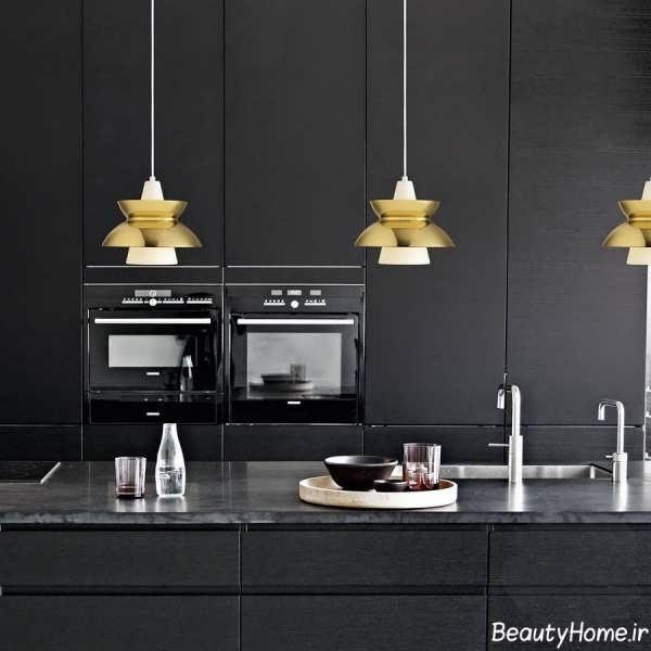 لوستر آشپزخانه با طراحی مدرن
