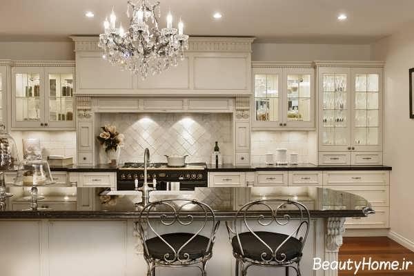 مدل لوستر آشپزخانه با طراحی مدرن