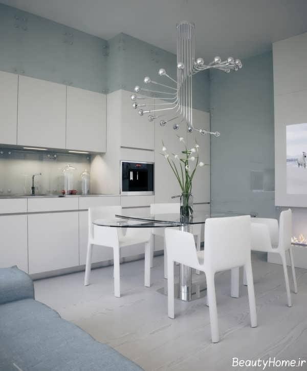 مدل لوستر کریستال برای آشپزخانه