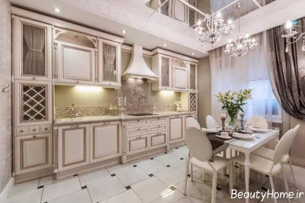 زیباترین طرح های لوستر آشپزخانه