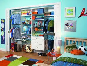 کمد دیواری اتاق کودک با طرح های کاربردی و زیبا