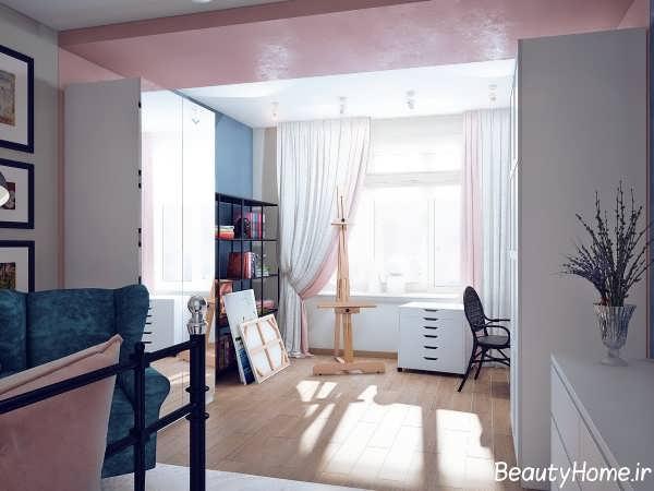 دکوراسیون رنگی برای خانه آپارتمانی