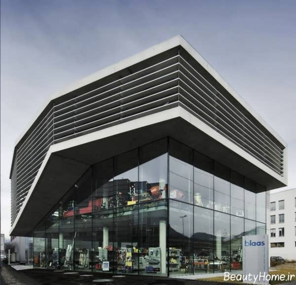 نمای خارجی ساختمان تجاری