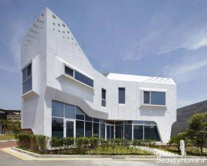 نمای متفاوت ساختمان تجاری