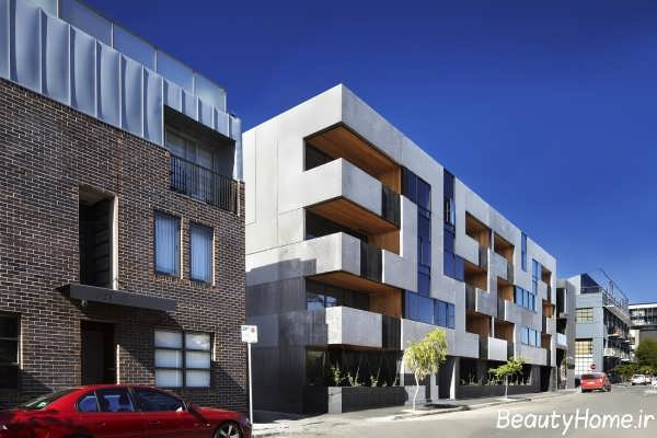 بهترین طراحی نمای خارجی برای ساختمان تجاری