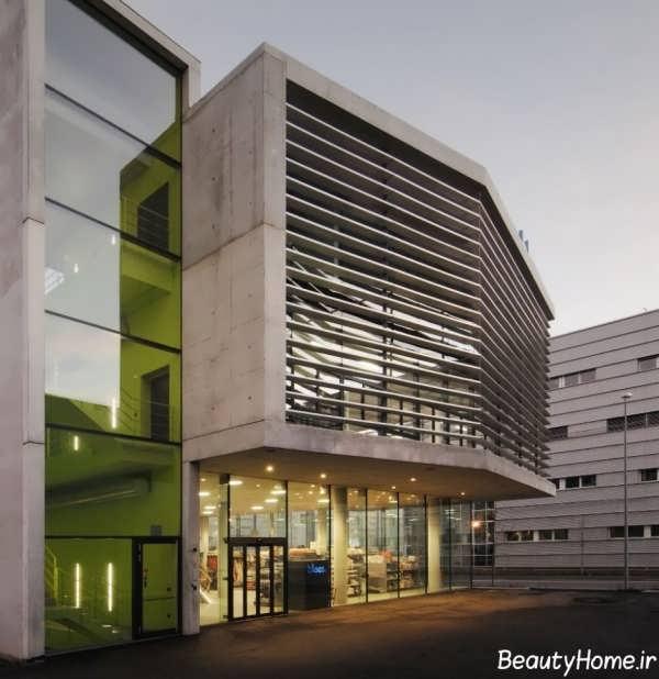 طراحی نمای خارجی برای ساختمان های تجاری