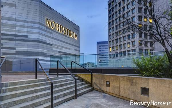 دیزاین نمای ساختمان تجاری