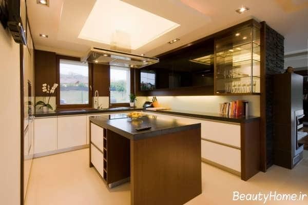 زیباترین طرح های کابینت آشپزخانه