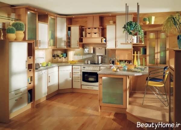 انواع طرح های کابینت آشپزخانه