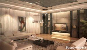 طراحی های مدرن داخلی برای پذیرایی