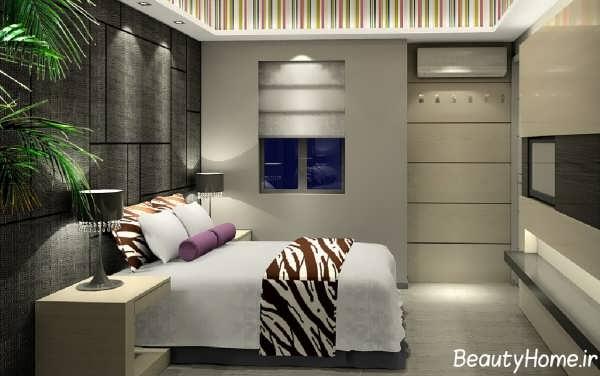 مدل اتاق خواب زیبا و جدید