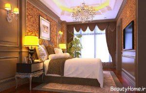 طراحی دکوراسیون داخلی برای اتاق خواب دو نفره