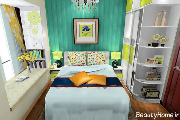 مدل اتاق خواب با طراحی بی نظیر و متفاوت