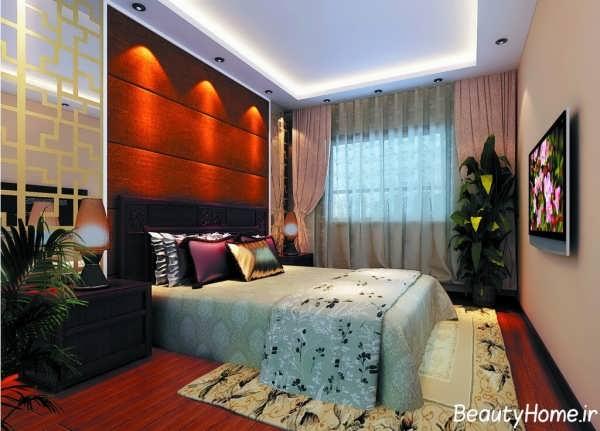 نورپردازی رمانتیک اتاق خواب