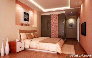 مدل های اتاق خواب با نورپردازی و چیدمان مدرن