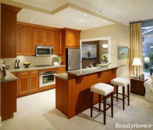 کابینت چوبی آشپزخانه