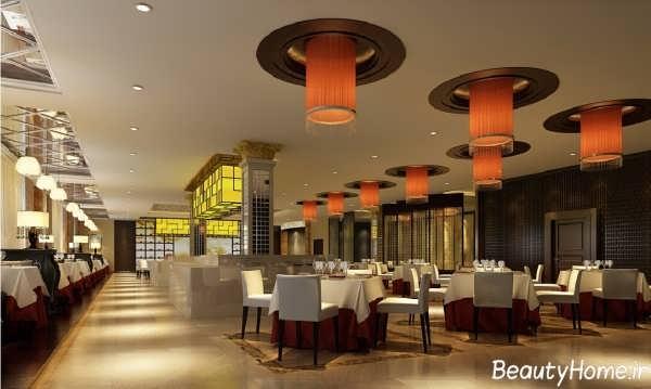 طراحی دکوراسیون داخلی رستوران
