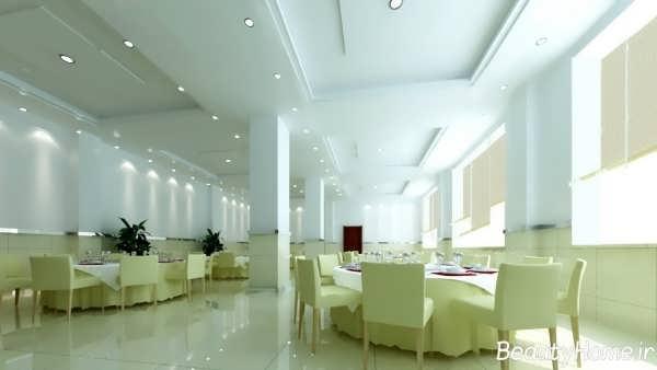 طراحی زیبا و کاربردی رستوران