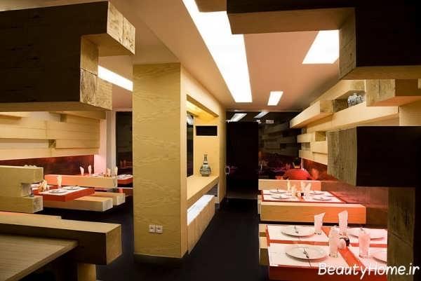 لوکس ترین طراحی ها برای رستوران