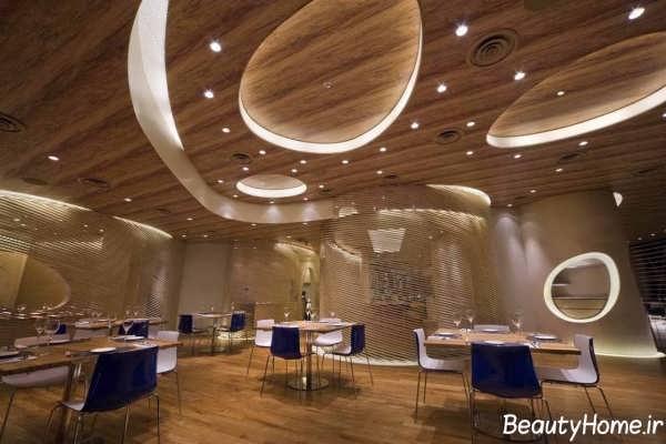 طراحی های مدرن و لوکس برای رستوران