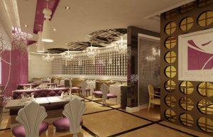 طراحی رستوران مدرن و شیک