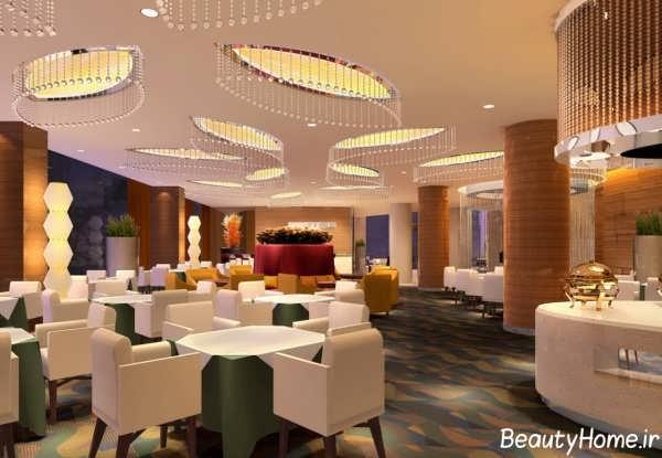 طراحی های زیبا رستوران