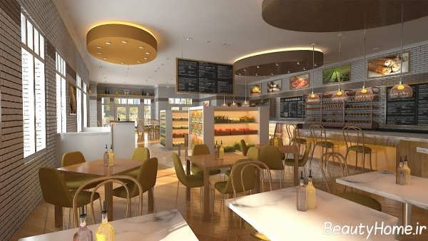 طراحی رستوران با روش های کاربردی