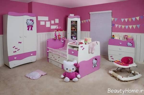 دکوراسیون اتاق نوزاد برای سیسمونی
