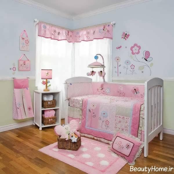 روش هایی برای تزیین اتاق نوزاد
