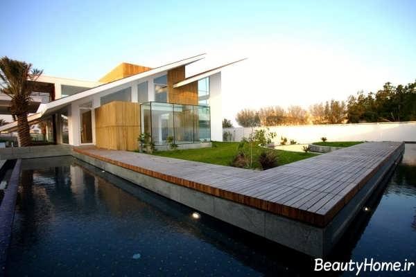زیباترین نمونه های سقف های شیب دار